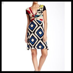 Desigual Printed Twisted Dress